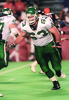 Scott Hendrickson Saskatchewan Roughriders 1992. Photo F. Scott Grant