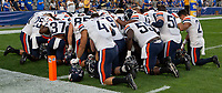 The Virginia Cavaliers defeated the Pitt Panthers 30-14 in a football game at Heinz Field, Pittsburgh, Pennsylvania on August 31, 2019.