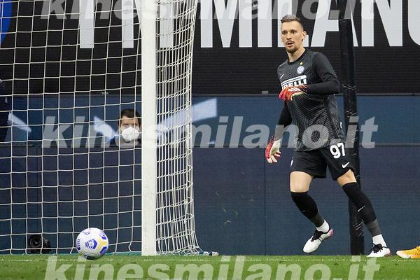 inter-roma - milano 12 maggio 2021 - 36° giornata Campionato Serie A - nella foto: radu