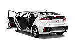 Car images close up view of a 2018 Hyundai Ioniq Plug-In Hybrid Base 5 Door Hatchback doors
