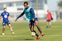 BRADENTON, FL - JANUARY 19: Jeremy Ebobisse moves with the ball during a training session at IMG Academy on January 19, 2021 in Bradenton, Florida.
