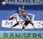 Rangers v St Mirren: James Tavernier challenges Ilkay Durmas