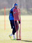 Kris Boyd caught in a hideous training ground accident as he gets stuck in some training equipment