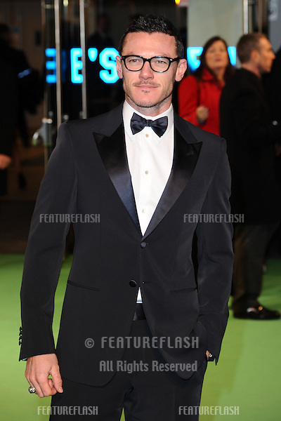 """Luke Evans arriving for the premiere of """"The Hobbit: An Unexpected Journey"""" at the Odeon Leicester Square, London. 12/12/2012 Picture by: Steve Vas / Featureflash"""