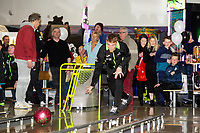 Pictured: Jay Fulton of Swansea City during the Swansea player and fans bowling evening at Tenpin Swansea, Swansea, Wales, UK. Wednesday 22 January 2020