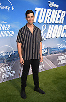 """LOS ANGELES, CA - JULY 15: Josh Peck attends a premiere event for the Disney+ original series """"Turner & Hooch"""" at Westfield Century City on July 15, 2021 in Los Angeles, California. (Photo by Frank Micelotta/Disney+/PictureGroup)"""