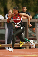 4 April 2007: Brittni Dixon-Smith during the Stanford Invitational at Cobb Track and Angell Field in Stanford, CA.