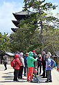 Record number of tourists in Japan