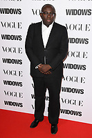 """Edward Enninful<br /> arriving for the """"Widows"""" special screening in association with Vogue at the Tate Modern, London<br /> <br /> ©Ash Knotek  D3457  31/10/2018"""