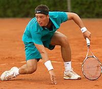 12-8-09, Den Bosch,Nationale Tennis Kampioenschappen, 1e ronde,  Tim van Terheijden