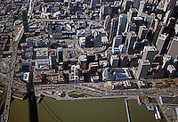 aerial photograph Transbay San Francisco, California