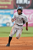 Anthony Gose of the Dunedin Blue Jays during the game at Jackie Robinson Ballpark in Daytona Beach, Florida on August 14, 2010. Photo By Scott Jontes/Four Seam Images