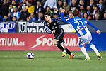 Mateo Kovacic (l) of Real Madrid in action during their La Liga match between Deportivo Leganes and Real Madrid at the Estadio Municipal Butarque on 05 April 2017 in Madrid, Spain. Photo by Diego Gonzalez Souto / Power Sport Images