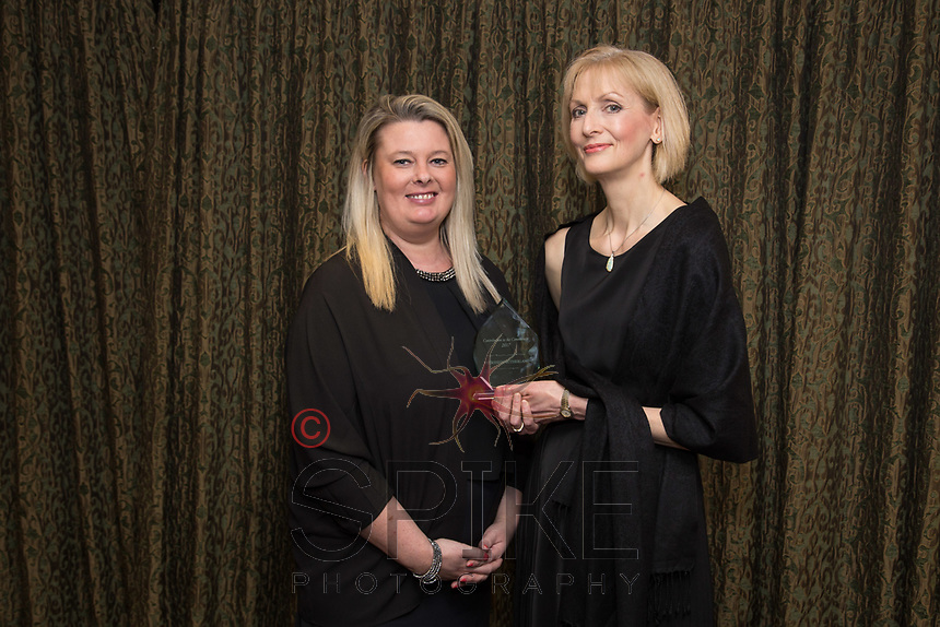 Contribution to the Community Award Kelly Barton (centre) and Nicola Bennison of Eversheds