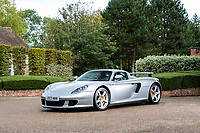 BNPS.co.uk (01202 558833)<br /> Pic: Bonhams/BNPS<br /> <br /> Pictured: 2004 Porsche Carrera GT<br /> <br /> Cosmic Cars...<br /> <br /> Three barely used supercars belonging to Jamiroquai singer Jay Kay have emerged for sale for nearly £2.5m.<br /> <br /> The 1973 Porsche 911, 2016 Ferrari F12 and 2004 Porsche Carrera GT are among around 100 vehicles owned by the acid jazz star.<br /> <br /> As such they have been scarcely used during their time with the musician and he has now decided to trim his collection.