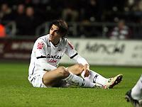 Pictured: Jordi Gómez of Swansea City<br /> Picture by D Legakis / Athena Picture Agency, Swansea, 07815441513