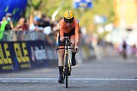9th September 2021; Trento, Trentino–Alto Adige, Italy: 2021 UEC Road European Cycling Championships, Womens Individual time trials:  MARKUS Riejanne (NED)