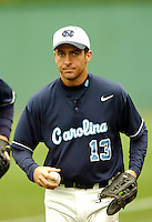 1B/OF Dustin Ackley of the North Carolina Tar Heels at Shea Field May 14, 2009 in Chestnut Hill, MA (Photo by Ken Babbitt/Four Seam Images)