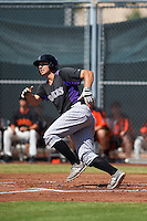 Colorado Rockies Kevin Padlo (37) during an instructional league game against the San Francisco Giants on October 7, 2015 at the Giants Baseball Complex in Scottsdale, Arizona.  (Mike Janes/Four Seam Images)