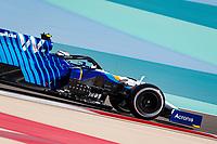 26th March 2021; Sakhir, Bahrain; F1 Grand Prix of Bahrain, Free Practice sessions;  06 LATIFI Nicholas (can), Williams Racing F1 FW43B during Formula 1 Gulf Air Bahrain Grand Prix