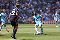ST PAUL, MN - JULY 18: Chase Gasper #77 of Minnesota United FC passes the ball during a game between Seattle Sounders FC and Minnesota United FC at Allianz Field on July 18, 2021 in St Paul, Minnesota.