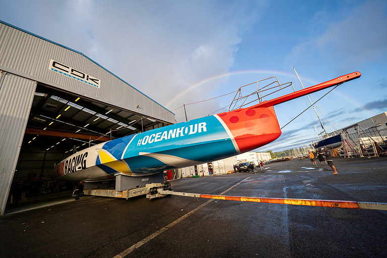 Sporting performance meets sustainable innovation: 11th Hour Racing Team reveals new IMOCA 60 for fully-crewed sailing