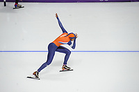OLYMPIC GAMES: PYEONGCHANG: 18-02-2018, Gangneung Oval, Long Track, 500m Ladies, Anice Das (NED), ©photo Martin de Jong