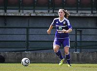 RSC Anderlecht Dames - ADO Den Haag : Laurence Marchal.foto DAVID CATRY / Nikonpro.be