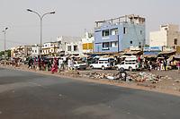 Senegal, Touba.  Street Scene.