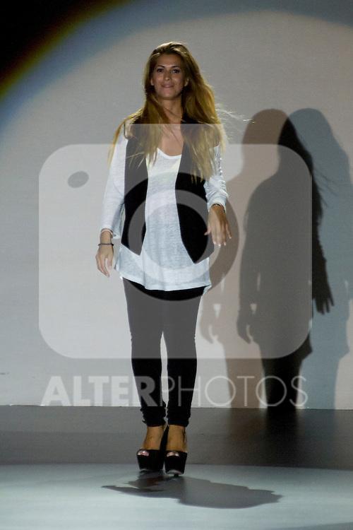 02.09.2012. Models walk the runway in the Juana Martin fashion show during the Mercedes-Benz Fashion Week Madrid Spring/Summer 2013 at Ifema. In the image Juana Martin (Alterphotos/Marta Gonzalez)