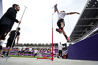 Orlando, Florida - Friday January 12, 2018: Vertical Leap test. The 2018 adidas MLS Player Combine Skills Testing was held Orlando City Stadium.