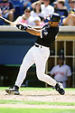 CHICAGO - CIRCA 1996:  Harold Baines #3 of the Chicago White Sox bats during an MLB game at Comiskey Park in Chicago, Illinois. Baines played for 22 season for 5 different teams, was a 6-time All-Star and was inducted to the Baseball Hall of Fame in 2019.(David Durochik / SportPics) --Harold Baines