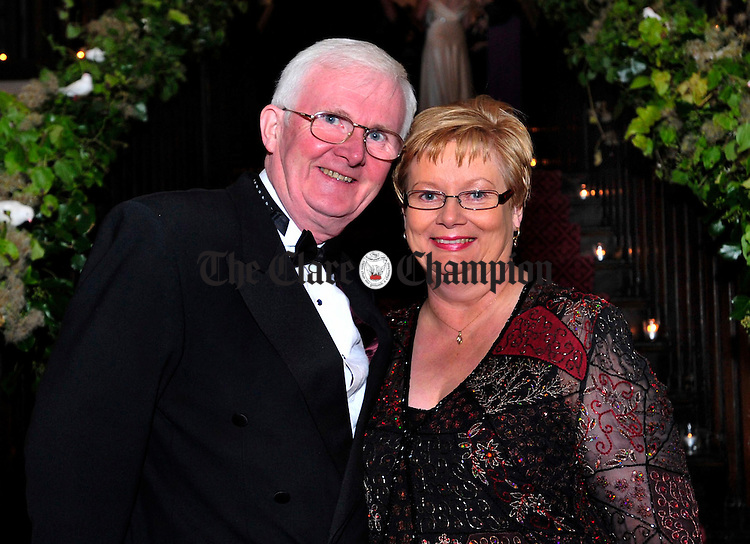 John and Nuala Quinlavin from Newmarket.