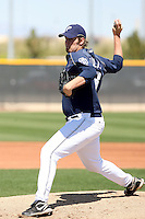 Matt Lollis, San Diego Padres minor league spring training..Photo by:  Bill Mitchell/Four Seam Images.