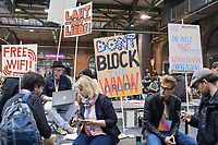 """11. re:publica-Konferenz in Berlin<br /> Vom 8. bis 10. Mai 2017 findet in Berlin die elfte re:publica-Konferenz in Berlin unter dem Motto """"Love Out Loud"""" statt. Die Veranstalter wollen mit dem Motto """"Love Out Loud!"""" (LOL fuer positiv Denkende) ein """"Zeichen fuer Engagement und Emanzipation in der digitalen Gesellschaft setzen"""".<br /> Die Konferenz zum Thema Internet und digitale Gesellschaft bietet auf bis zu 18 Buehnen parallel mehr als 500 Stunden Programm. Ein guter Teil davon dreht sich um netzpolitische Fragestellungen aller Art. Erwartet werden ca. 8.000 Veranstaltungsteilnehmer.<br /> 8.5.2017, Berlin<br /> Copyright: Christian-Ditsch.de<br /> [Inhaltsveraendernde Manipulation des Fotos nur nach ausdruecklicher Genehmigung des Fotografen. Vereinbarungen ueber Abtretung von Persoenlichkeitsrechten/Model Release der abgebildeten Person/Personen liegen nicht vor. NO MODEL RELEASE! Nur fuer Redaktionelle Zwecke. Don't publish without copyright Christian-Ditsch.de, Veroeffentlichung nur mit Fotografennennung, sowie gegen Honorar, MwSt. und Beleg. Konto: I N G - D i B a, IBAN DE58500105175400192269, BIC INGDDEFFXXX, Kontakt: post@christian-ditsch.de<br /> Bei der Bearbeitung der Dateiinformationen darf die Urheberkennzeichnung in den EXIF- und  IPTC-Daten nicht entfernt werden, diese sind in digitalen Medien nach §95c UrhG rechtlich geschuetzt. Der Urhebervermerk wird gemaess §13 UrhG verlangt.]"""
