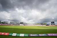 A brief glimpse of the sun at the Hampshire Bowl as the clouds build up during India vs New Zealand, ICC World Test Championship Final Cricket at The Hampshire Bowl on 20th June 2021