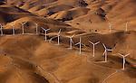 Wind generators, Altamira Pass, California