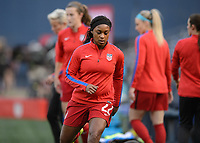 San Diego, Ca - Sunday, January 21, 2018: Taylor Smith during a USWNT 5-1 victory over Denmark at SDCCU Stadium.