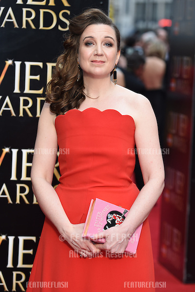 Josie Rourke arrives for the Olivier Awards 2015 at the Royal Opera House Covent Garden, London. 12/04/2015 Picture by: Steve Vas / Featureflash