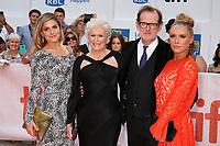 ALIX WILTON REGAN, GLENN CLOSE, DIRECTOR BJORN RUNGE AND ANNIE STARKE - RED CARPET OF THE FILM 'THE WIFE' - 42ND TORONTO INTERNATIONAL FILM FESTIVAL 2017