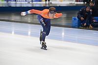SPEEDSKATING: 22-11-2019 Tomaszów Mazowiecki (POL), ISU World Cup Arena Lodowa, Lennart Velema (NED), ©photo Martin de Jong