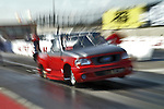 Drag Racing! Funny truck jumps off the line