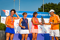 Etten-Leur, The Netherlands, August 27, 2017,  TC Etten, NVK, Frits Raijmakers does the prizegiving<br /> Photo: Tennisimages/Henk Koster