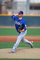 Texas Rangers pitcher Connor Sadzeck (11) during an instructional league game against the Los Angeles Angels / Chicago Cubs co-op team on October 5, 2015 at the Surprise Stadium Training Complex in Surprise, Arizona.  (Mike Janes/Four Seam Images)
