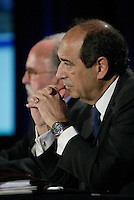 Montreal (QC) CANADA, May 7, 2007-<br /> <br />  Alain J.P. Belda, Chairman and Chief Executive Officer of Alcoa annonce that<br /> Alcoa to Offer to Acquire Alcan for US$73.25 Per Share in Cash and Stock, 'ay 7, 2007 at a news conference in Montreal, CANADA,