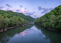 New River Gorge National Park, West Virginia.  New River