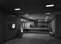 Foyer of Eversharp, Inc. in the Empire State Building, New York City. March 3, 1946.<br /> <br /> Photo by Gottscho-Schleisner.