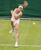 22-6-09, Enland, London, Wimbledon, Danielle Hantuchova