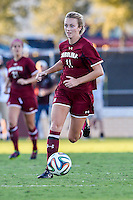 South Carolina midfielder Chelsea Drennan (11) advances the ball during NCAA soccer game, Sunday, October 26, 2014 in College Station, Tex. South Carolina draw 2-2 against Texas A&M in double overtime. (Mo Khursheed/TFV Media via AP Images)