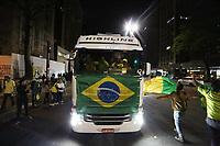 28.05.2018 - Protesto de Caminhoneiros na Avenida Paulista em SP